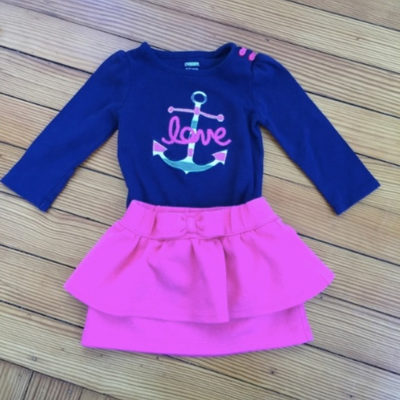 GYMBOREE SHORE TO COVE NAVY w// ANCHOR SWEATER BEANIE HAT 0 3 6 12 18 NWT